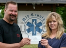 Triple C Riders donate to Rescue Squad