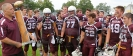 Coach Joe Noha and Maroon players