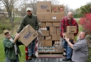 The Stephenson Lions Club donate to Food Pantry