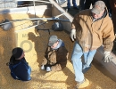 Grain bin rescue training