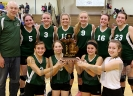 Carney-Nadeau volleyball team wins districts