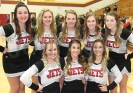 North Central's Varsity cheerleaders