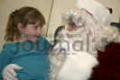 Tessa Wagner and Santa