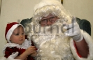 Camelly Gleisner and Santa
