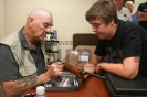 Duncan Radant and R. Lee Ermey