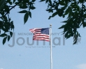 Flag over Veterans' Memorial Park