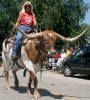 Shannon Arritola and Longhorn