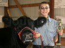 Joshua Thoney with Steer
