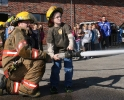 Students Visit Fire Hall