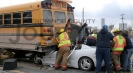 Car/School Bus Accident