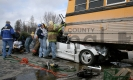 Car/School Bus Accident Photo 2