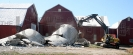 Silo taken down in Ingalls