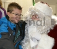 Riley Frenzel and Santa
