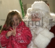 Joelle Beaudo and Santa