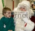 Cameron Strauss and Santa