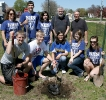 NHS Arbor Day Tree Planting