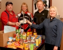 Tivoli Theater and Food Pantry Donation