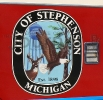 Stephenson Logo on Fire Truck