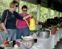 Roni Martz and Mary Ann Wilde at Flea Market