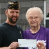 American Legion Donation to Hope Memorial