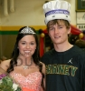 Carney-Nadeau Homecoming King and Queen