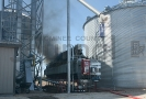 Triple Z North grain dryer fire