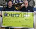 Stephenson Lions Club donate to School
