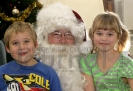 Collin and Erin Berg with Santa