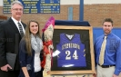 Tiffany Wangerin's Jersey Retired