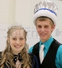 SHS Winter Homecoming '15 King and Queen