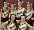 Menominee Varsity Cheer Team