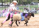 Mutton Bustin' 2015 Carney Roundup Rodeo