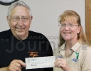U.P. Whitetails check donation