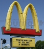 Menominee McDonald's sign