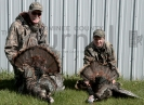 Dwaine Star and Micah Hulce Turkeys